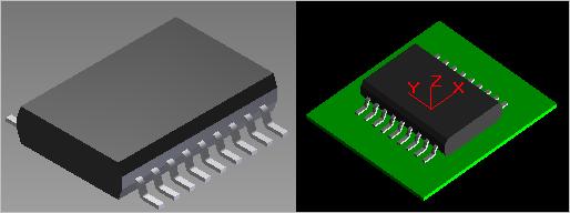 3D STEP Modell