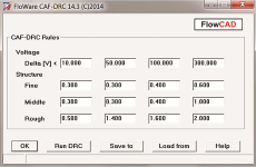 FloWare CAF DRC im PCB Editor