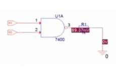 7400 Logikgatter NAND
