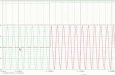 Amplitudenumtastung mit PSpice simuliert