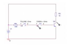 Bipolar Transistor als Schalter