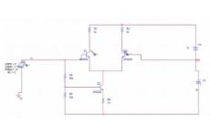 Differenzverstärker mit Transistoren