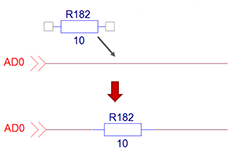 FloWare OrCAD Capture Split Wire