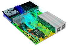 Thermisches Modell eines Servers