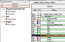 OrCAD PCB Constraint Manager