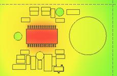Thermische Simulation auf Leiterplatten