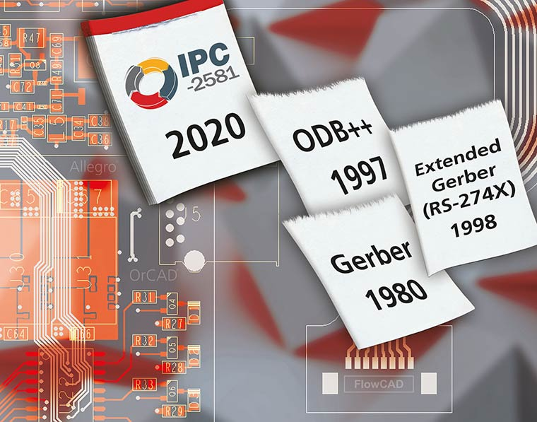 Neutral, open and global standard for efficient PCB design data exchange