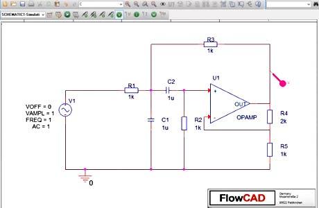 Bandpass mit Einfachmitkopplung