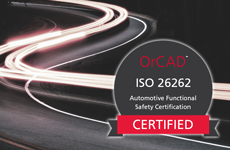 OrCAD Capture ISO 26262 certified