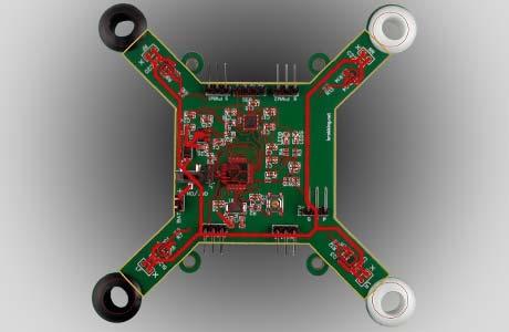 Calibration Drone Board