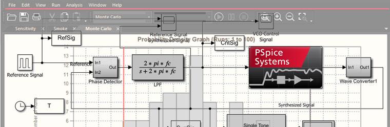 PSpice Circuit Simulator